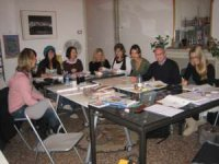Italian language course for 8 students at Reggio Lingua