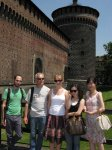 Visit at Castello Sforzesco