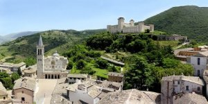 Spoleto, immersed in the Nature and in History!