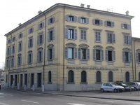 The Reggio Lingua school is located in town center  of Reggio Emilia