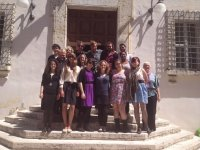 UWG Study abroad portrait at the Town Hall - May 2013