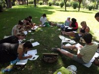 Outdoor lessons and full immersion in the italian culture